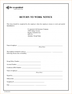 return to work doctors note template return to work letter from doctor