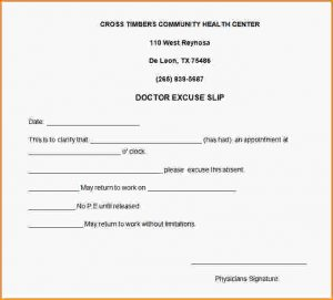 return to work letter from doctor free printable doctors excuse for work doctors excuse note template for work a