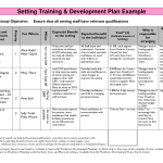 risk management plan example free sales development plan template