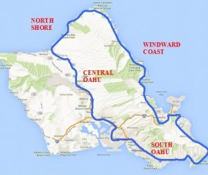 road trip itinerary oahu map one day in oahu oahu day trip hawaii day