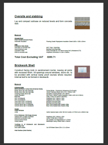 roofing estimate templates estimating software quote p