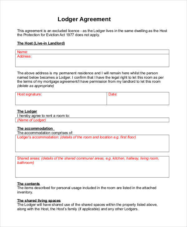 Roommate Agreement. Roommate Contract Template Roommate Contract ...