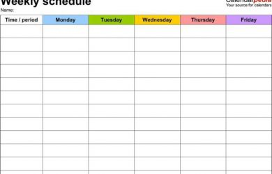 rotating shift schedule blank daily weekly work schedule template word format