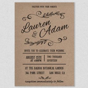rustic wedding invites templates cacceeadd formal invitations rustic invitations