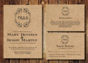 rustic wedding invites templates free printable rustic wedding invitation templates