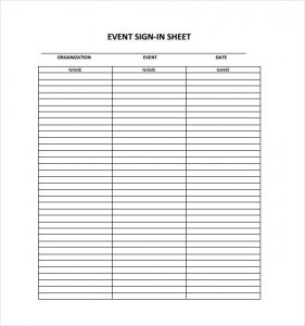 safety meeting sign in sheet event sign in sheet example template free download