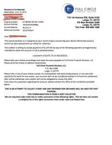 salary verification letter debt settlement citibank example letter