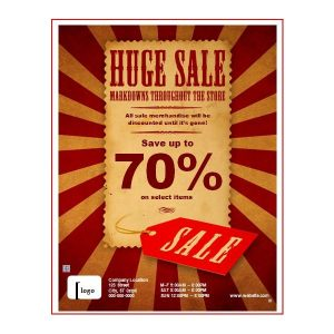 sale flyer template sales flyer template image