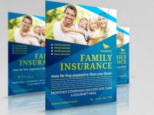 sales flyer templates corporate insurance flyer template psd