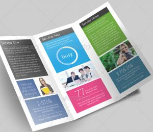 sales flyer templates metro brochure preview