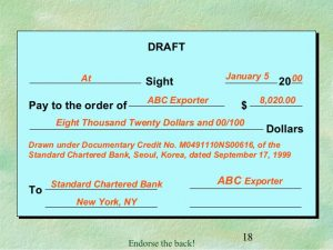 sales letter template basics of letters of credit