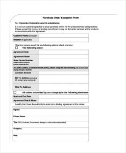 Superb Sales Order Forms Purchase Order Confirmation Form