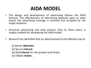 sales proposal example aida presentation