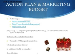 sales proposal template free marketing plan sample of a chocolate retail and manufacturer jeff de bruges by wwwmarketingplannowcom