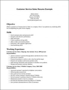 sales proposal templates customer service resume examples customer service sales resume example with skills in problem solving and working experience as customer service sales in company
