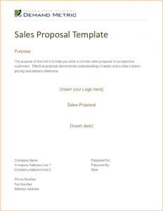 sales proposal templates sales proposal example sales proposal template cb
