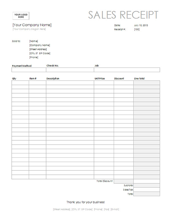 car sale invoice template