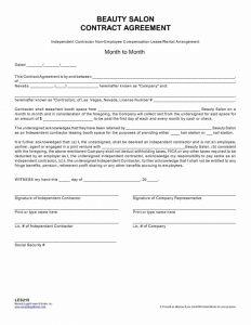 salon booth rental agreement beautysaloncontractagreement