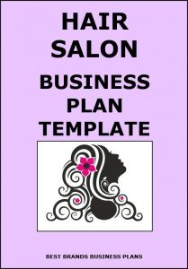 salon business plan hair salon business plan template
