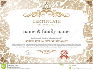 salon gift certificate template certificate design template unique patterned thailand mixed other designs as pakalang someone special