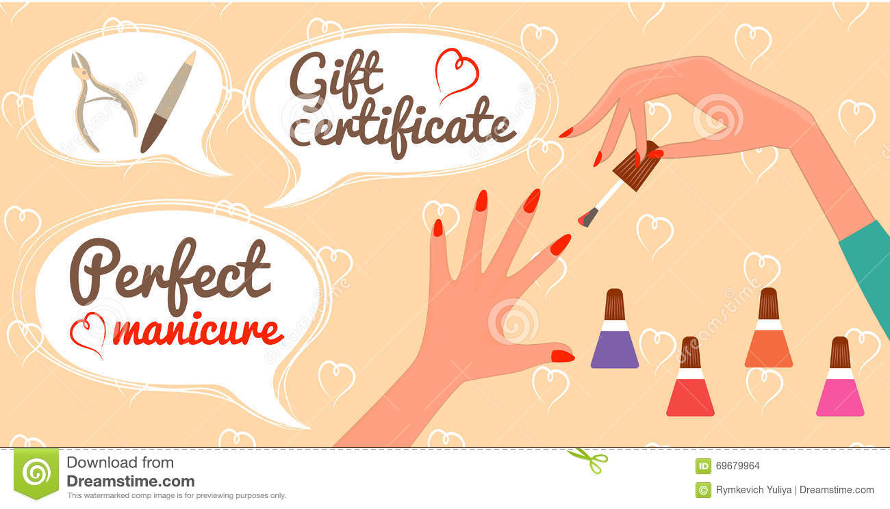 salon gift certificate template template business