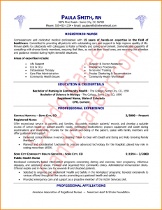 sample basic resignation letter registered nurse resume nurse resume