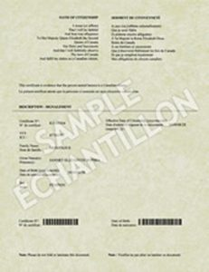 sample birth certificate cit card fev reverse