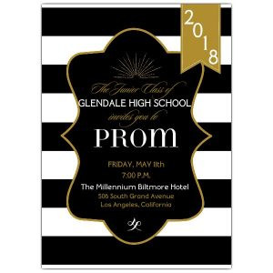 sample birthday invites black and gold prom invitations p prom z
