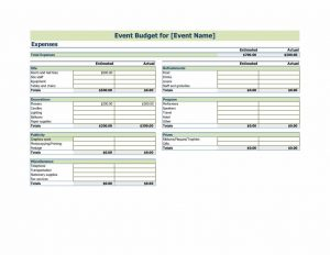 sample budget planning plan excel event budget template your next organization or company event with this budget template compare versus actual
