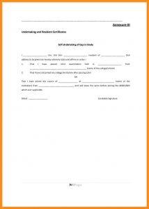 sample car bill of sale undertaking format for employee prospectus cb