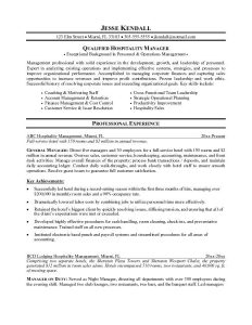 sample college application sample resume for hospitality industry for keyword