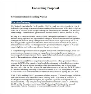 sample consulting proposal consulting proposal template download