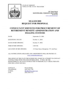 sample consulting proposal sealed bid request for proposal consultant services for