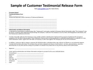 sample corporate resolution sample of customer testimonial release form