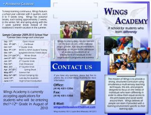 sample corporate resolution wings school brochure by pageless darjz