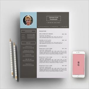sample cv template interior designer resume template