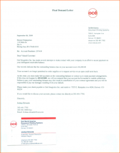 sample demand letter for payment demand letter template