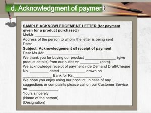 sample demand letter for payment of debt writing payment