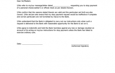 sample demand letter for payment stop payment request letter samples