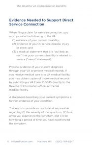 sample disability letter from doctor the road to va compensation benefits