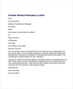 sample doctor note medical leave letter free word excel pdf documents download inside medical leave of absence letter from doctor