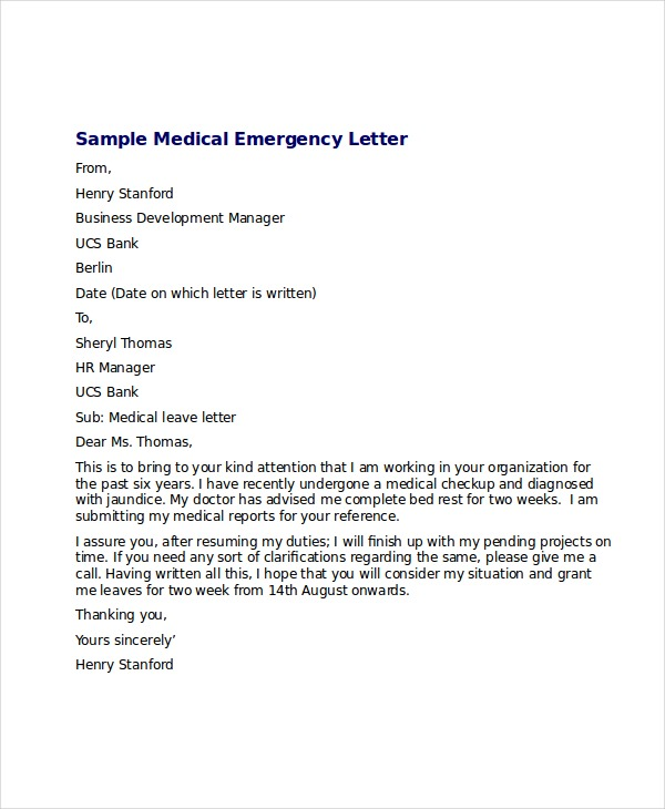 Sample Doctor Note  Template Business