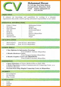 sample doctors note for work cv formats for students