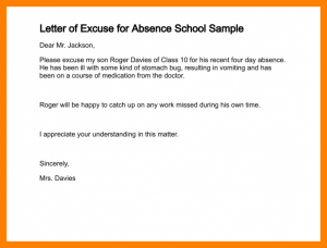 sample doctors note for work examples of excuse letters for absent in school