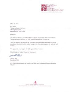 sample donation letter donation letter small
