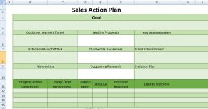sample emergency action plan project action plan template excel excel template