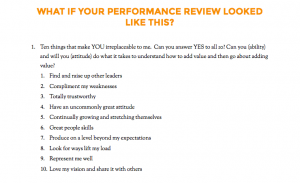 sample employee evaluation employee performance review questions