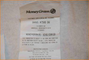 sample eviction letter receipt moneygram exh
