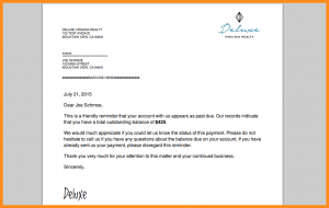 sample eviction notice friendly payment reminder letter automate letter