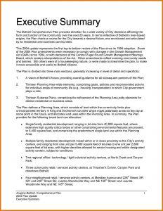 sample executive summary executive summary sample executive summary sample doc executive report template word report executive
